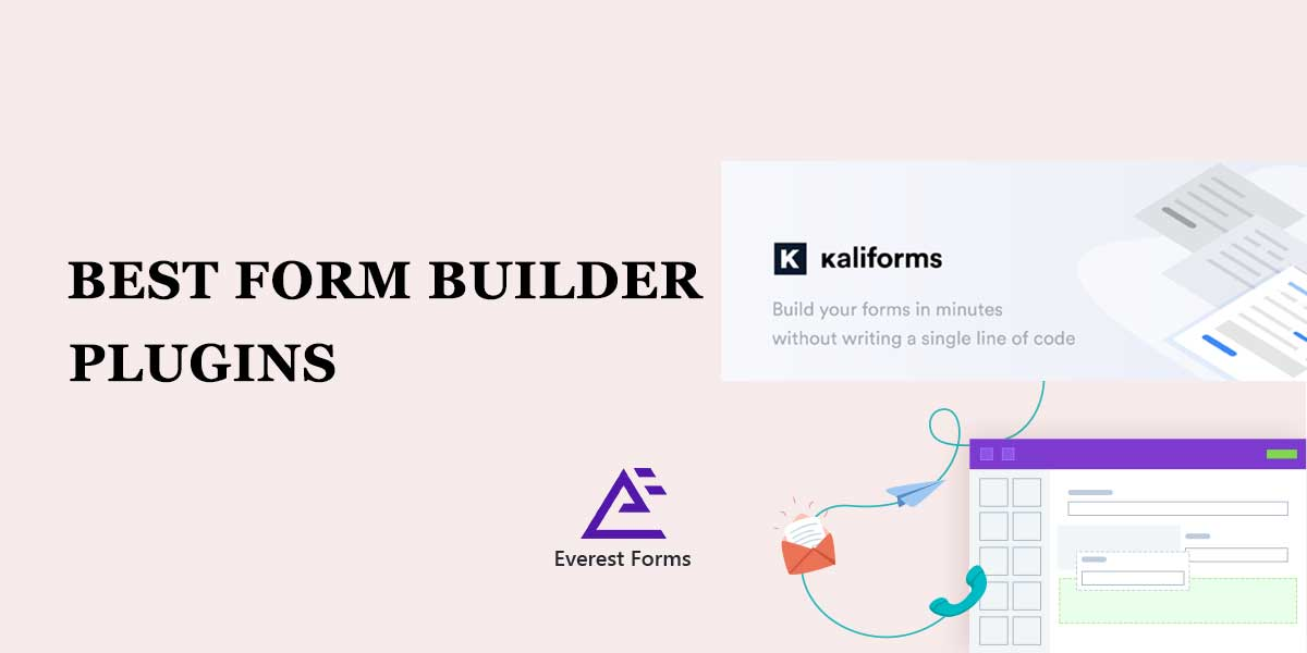 8 Best Form Builder Plugins for your WordPress Website